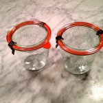 Weck Canning jars from Crate & Barrel
